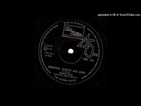 Marvin Gaye - Abraham, Martin & John